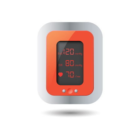 blood pressure monitor: Automatic blood pressure monitor for good heart.