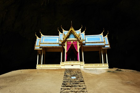 Sam pra ya cave and pavilion Stock Photo - 7337457