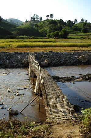 The wood bridge Stock Photo - 7337691
