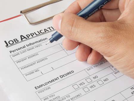 Write a job application