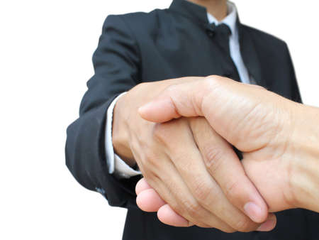 Business handshake Stock Photo - 10326411