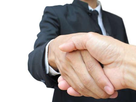 Business handshake Stock Photo - 10326411