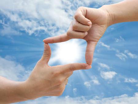 Hand make frame