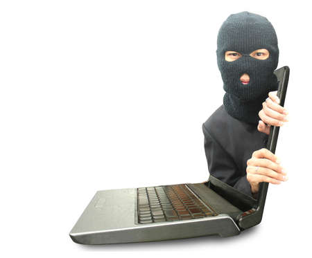 Computer crime concept Stock Photo - 11224847