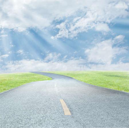 driveway: Road