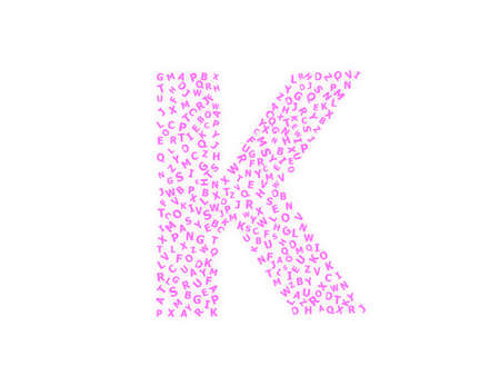 Letter K photo