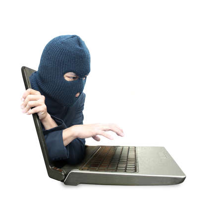 Computer crime concept Stock Photo - 12685554