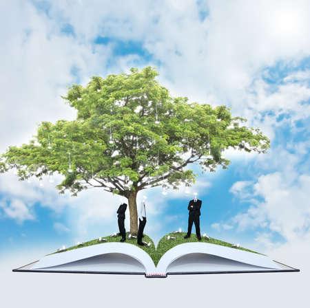 Man and tree of wisdom