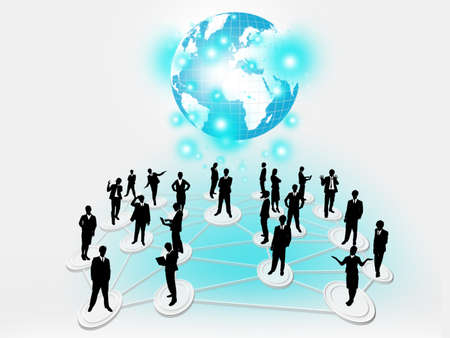 Business network photo