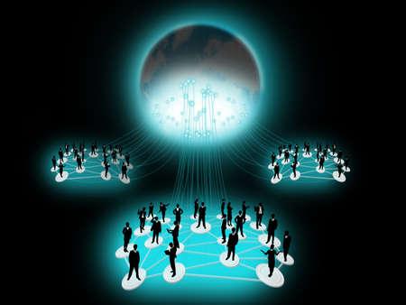 cooperativismo: Red de negocios