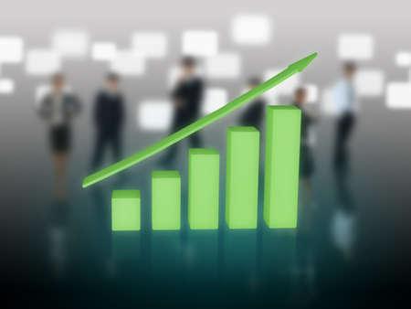 Chart stat Stock Photo