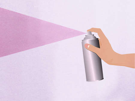 Hand spray Stock Photo - 15150230