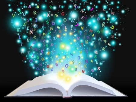 magic book Stock Photo - 15150174