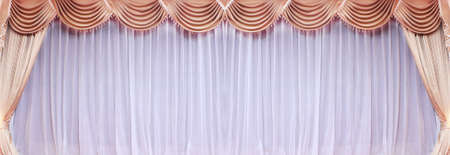 Theatrical curtain Stock Photo - 15150242