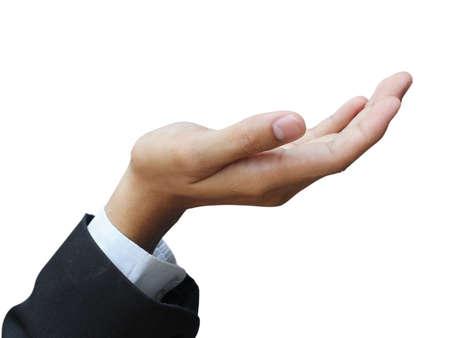 Hand holding Reklamní fotografie