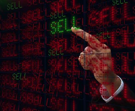 hand push sell