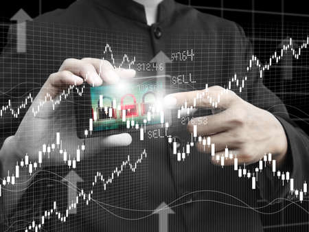 point of demand: man trade stock