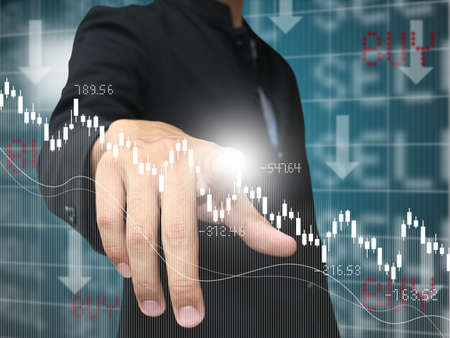 man press down trend stock