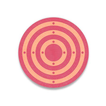 dart board: target paper