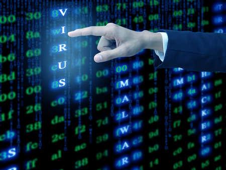 Hand press virus code