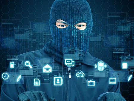 hacker Reklamní fotografie