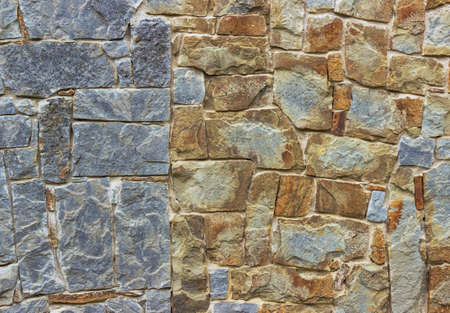 coquina: old stone double wall