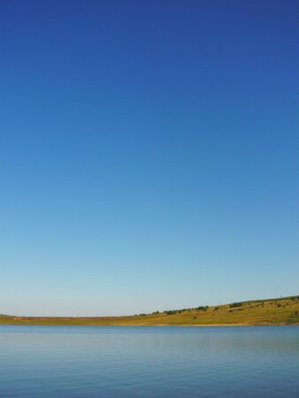 beautiful lake and sky photo