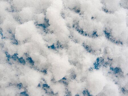 schnee textur: Schnee Textur, Nahaufnahmen Lizenzfreie Bilder
