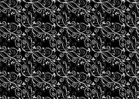 seamless pattern in gray black colors Vector