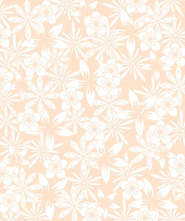 floral texture in soft pink colors Vector
