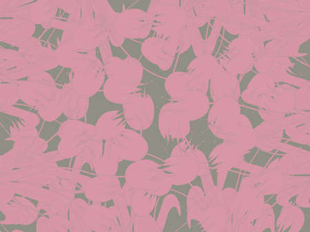 floral background in pink colors Stock Photo