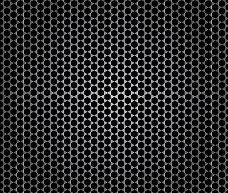 seamless vector background, imitation of microphone texture