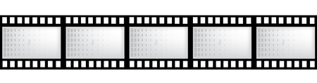 movie film: vector film strip with space for your text or image Illustration