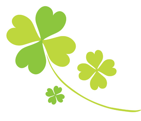 four leaf clovers for St. Patrick's Day Stock Vector - 8921129