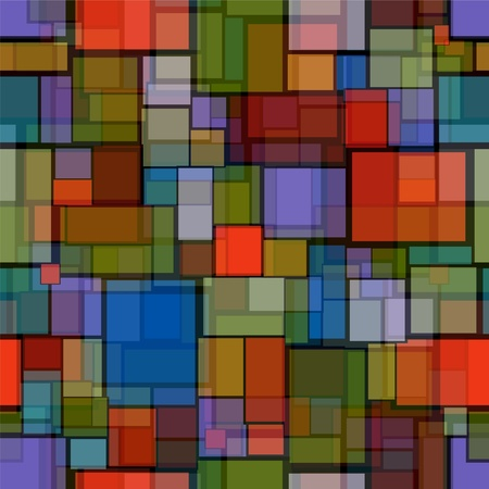 seamless pattern with stained glass imitation Vector