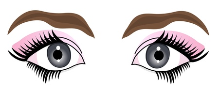 beautiful woman eyes for your design Stock Vector - 12985763