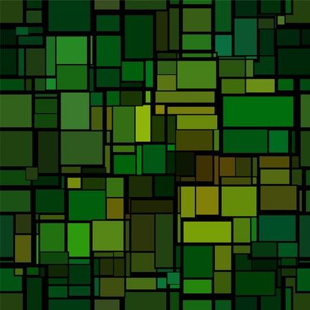 vetrate artistiche: modello astratto senza soluzione di continuit� con l'imitazione di vetrate Vettoriali