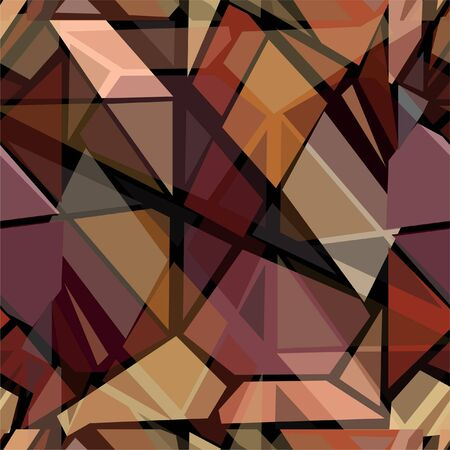 vitrage: abstract futuristic seamless pattern for your design Illustration