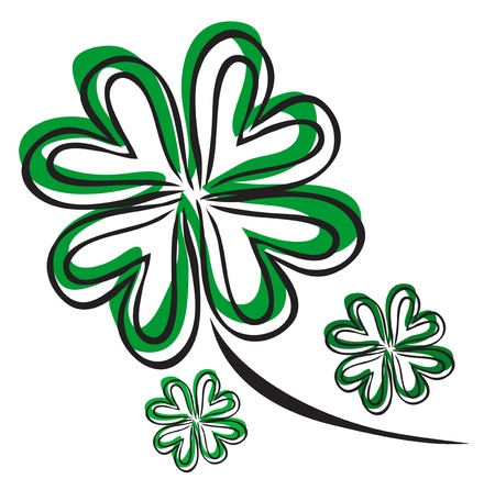 four leaf clover Stock Vector - 19264771