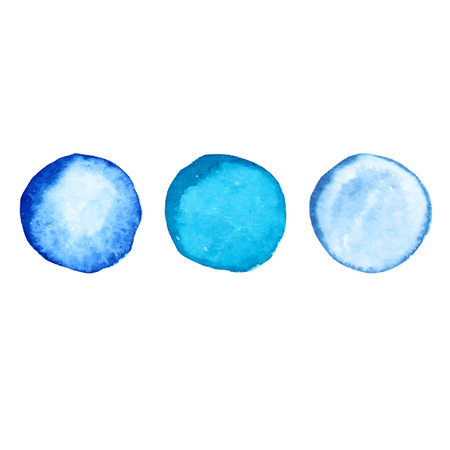 vectorized: Decorative watercolor circles, design elements. Can be used for wedding, baby shower, mothers day, valentines day cards, invitations. Vectorized watercolor background