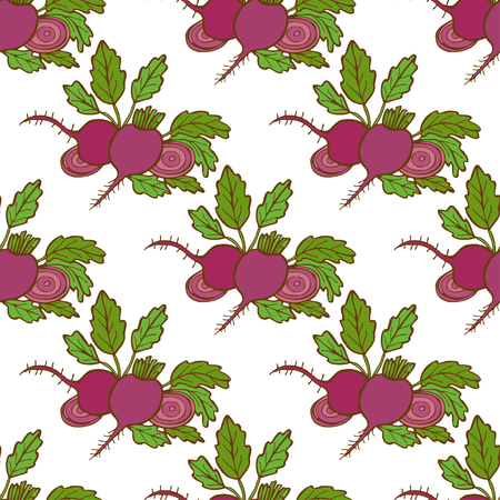 beets: Elegant seamless pattern with hand drawn beets, design elements. Can be used for invitations, greeting cards, scrapbooking, print, gift wrap, manufacturing. Food background