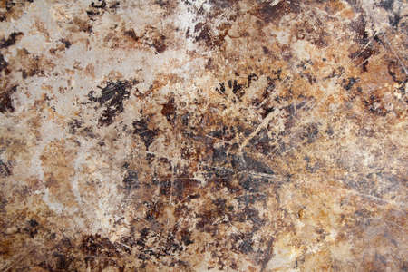An Abstract Metallic Grunge Background