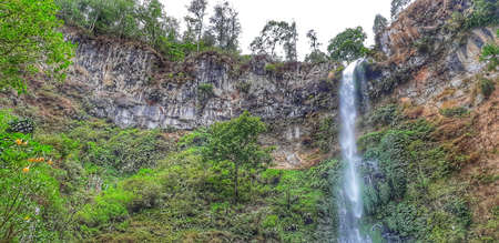 Coban Talun, one of the popular waterfalls in Batu, Malang, East Java, Indonesia