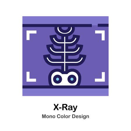 X-Ray Film mono color icon