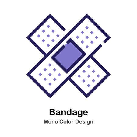 Bandage mono color icon