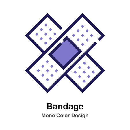 Bandage mono color icon