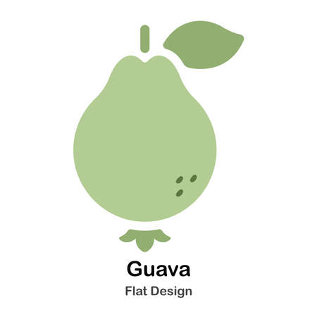 Guava Flat Illustration
