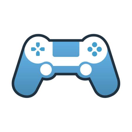 A controller vector illustration in line color design Ilustração