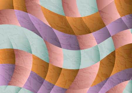 Abstact background vector wave pattern design