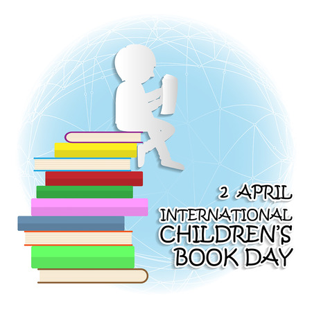 International children's book day on April 2 background